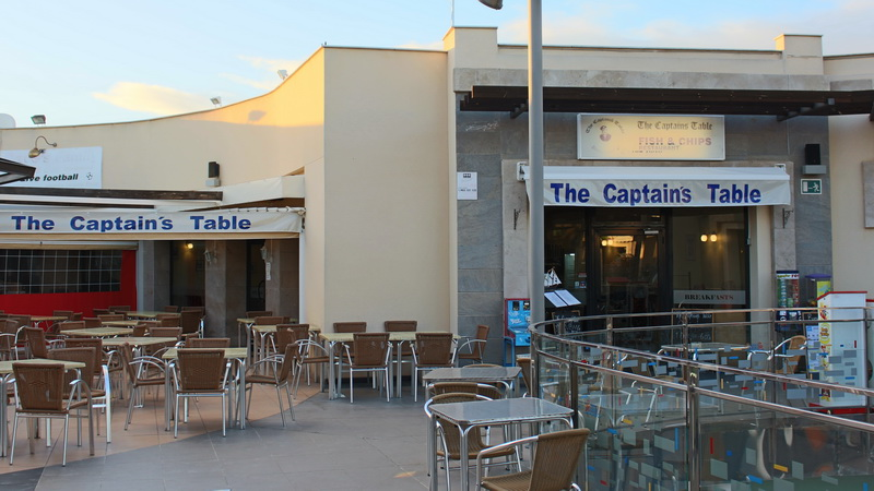 Welcome to The Captain's Table Restaurant.